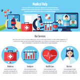 Medical Web Site Stock Image