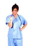 Medical Worker. Today's Medical Worker royalty free stock photo