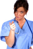 Medical Worker. Today's Medical Worker royalty free stock image