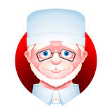 Medical worker avatar icon Stock Photography