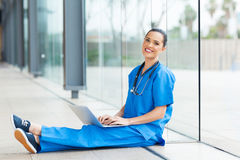 Medical worker hospital Stock Photos
