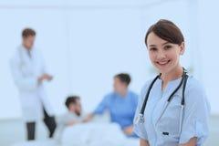 Medical worker in medical Center stock images