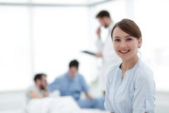 Medical worker in medical Center Stock Photography