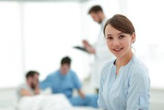 Medical worker in medical Center Royalty Free Stock Photos