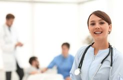 Medical worker in medical Center stock photo