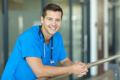 Medical worker stethoscope Royalty Free Stock Images