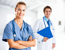 Medical workers Royalty Free Stock Image