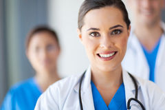 Medical workers. Group of medical workers portrait Royalty Free Stock Photos