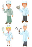 Medical workers Royalty Free Stock Photo