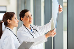 Medical workers x-ray Royalty Free Stock Photography