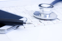 Medical worktable Royalty Free Stock Images