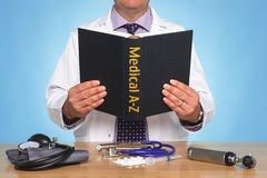 Medical A-Z Stock Image