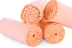 Medical bandage roll isolated Medicals bandage. Medicals bandage roll isolated Medicals bandage Stock Photo