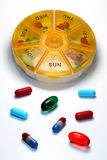 Medicamentação diária Imagens de Stock Royalty Free