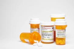 Medicamentação da prescrição Fotografia de Stock