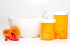 Medicamentação da prescrição Fotos de Stock