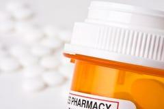 Medicamento de venta com receita Foto de Stock Royalty Free