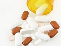 Medicamentos de venta com receita Foto de Stock Royalty Free
