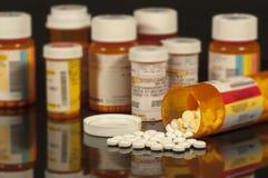 Medicamentos de venta con receta Imagen de archivo libre de regalías