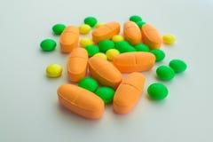 Medicamentos de venta con receta, cierre para arriba fotos de archivo libres de regalías