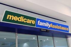 Medicare-Abteilung des Menschen hält Australien instand Lizenzfreie Stockfotos