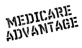 Medicare Advantage rubber stamp Royalty Free Stock Photos