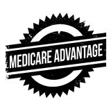 Medicare Advantage rubber stamp Royalty Free Stock Photography