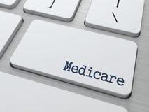 Medicare.  Conceito médico. Imagem de Stock Royalty Free