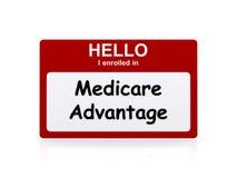 Medicare fördel Royaltyfri Fotografi