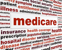 Medicare health care concept Royalty Free Stock Image
