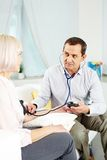 Medicare at home Stock Photo