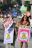 Medicare Rally Royalty Free Stock Image