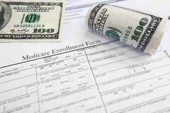 Medicare registra-se Imagem de Stock