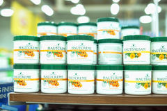 Medicated cream jars Stock Photos