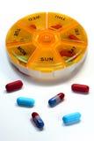 Daily Medication Stock Photography
