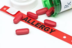 Medication Allergy Stock Photos