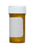 Medication bottle Stock Photography