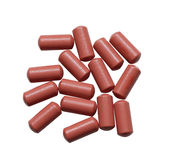 Medication Capsules Royalty Free Stock Images