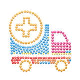 Medication delivery. Royalty Free Stock Photography