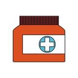 Medication icon image Stock Image