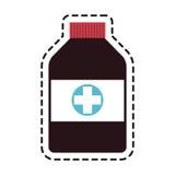 Medication icon image Stock Photos