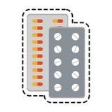 Medication icon image Royalty Free Stock Photo