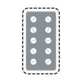 Medication icon image Royalty Free Stock Image