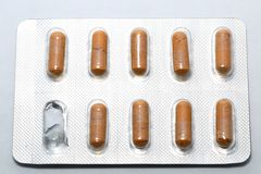 Medication pill Stock Photography