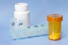 Daily Medication Royalty Free Stock Image