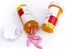 Medication pills Royalty Free Stock Photography