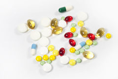 Medication and pills Stock Photography
