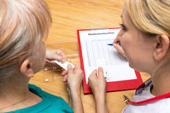 Medication plan Stock Photo