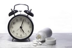 Medication time Royalty Free Stock Images