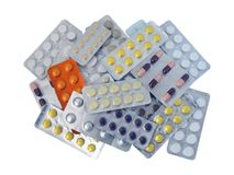 Medications Royalty Free Stock Images